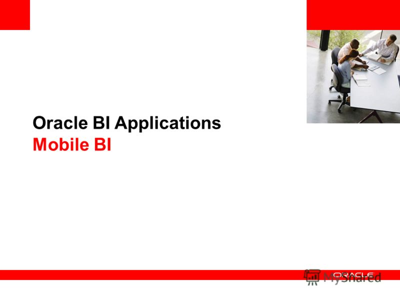 Oracle BI Applications Mobile BI