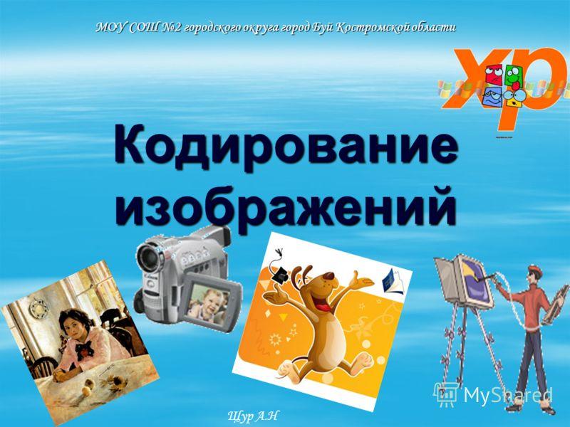 Кодирование изображений МОУ СОШ 2 городского округа город Буй Костромской области Щур А.Н