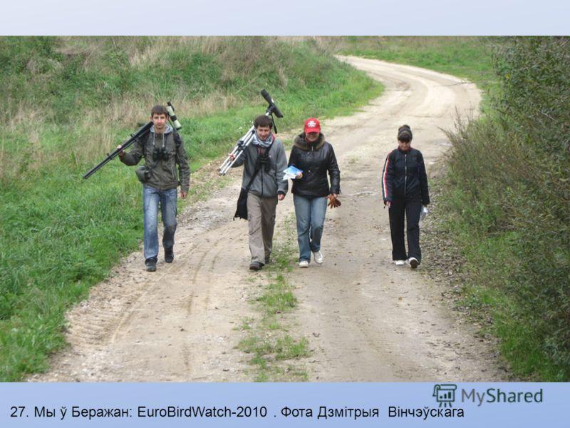 26. EuroBirdwatch-2010. Фота Дзмітрыя Вінчэўскага