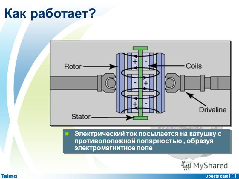 Update date I 11 Электрический ток посылается на катушку с противоположной полярностью, образуя электромагнитное поле Как работает?