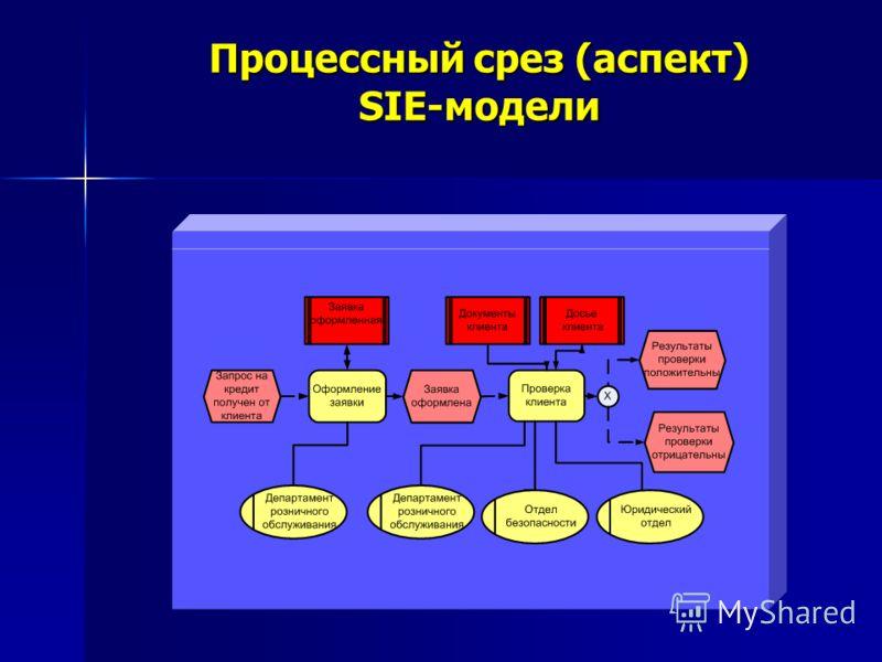 Процессный срез (аспект) SIE-модели