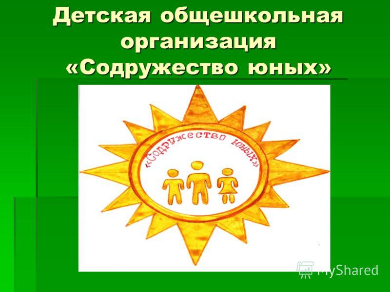 Детская общешкольная организация «Содружество юных»