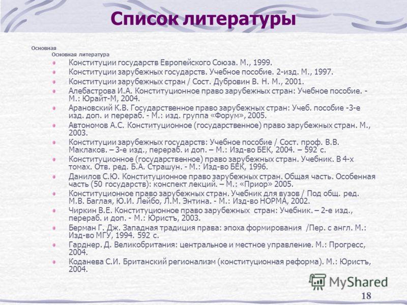 Конституционное Право Учебник Мгу