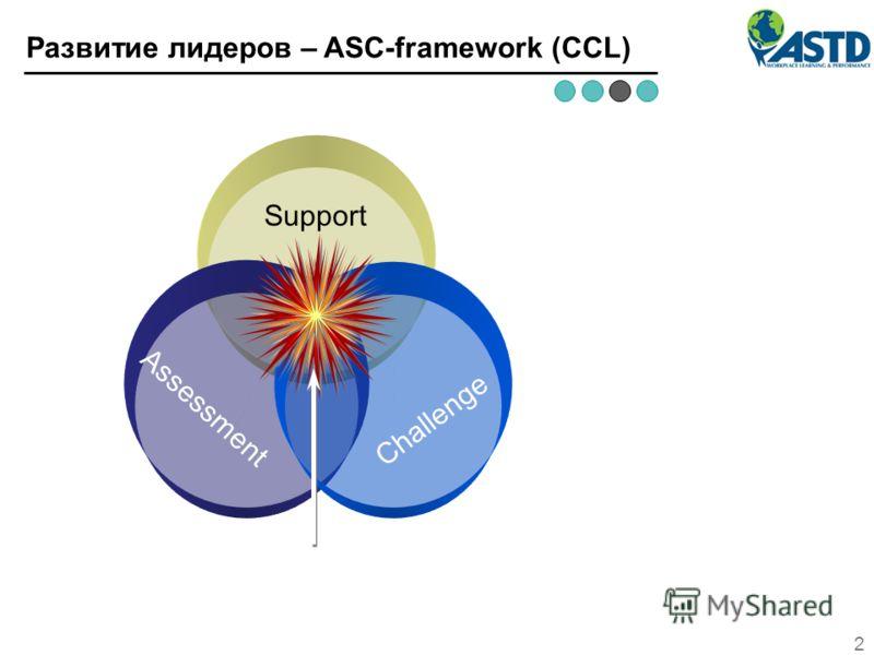 ВНЕШНИЕ ЗАИНТЕРЕСОВАННЫЕ СТОРОНЫ (клиенты, акционеры, партнеры, общественность) 2 Развитие лидеров – ASC-framework (CCL) Support Assessment Challenge