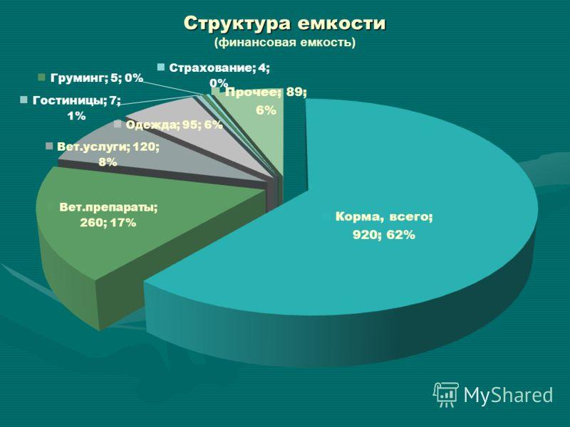 Структура емкости Структура емкости (финансовая емкость)