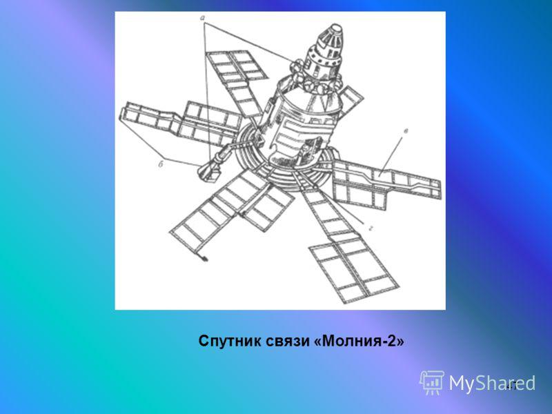 47 Спутник связи «Молния-2»