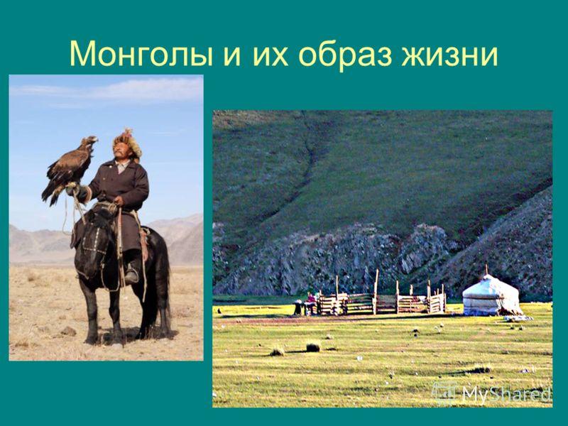 Монголы и их образ жизни