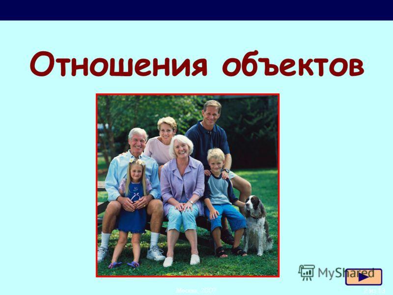 2 из 13Москва, 2007 Л.Л. Босова, УМК по информатике для 5-7 классов Отношения объектов