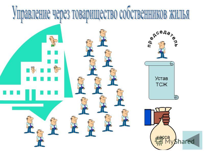 Устав ТСЖ касса