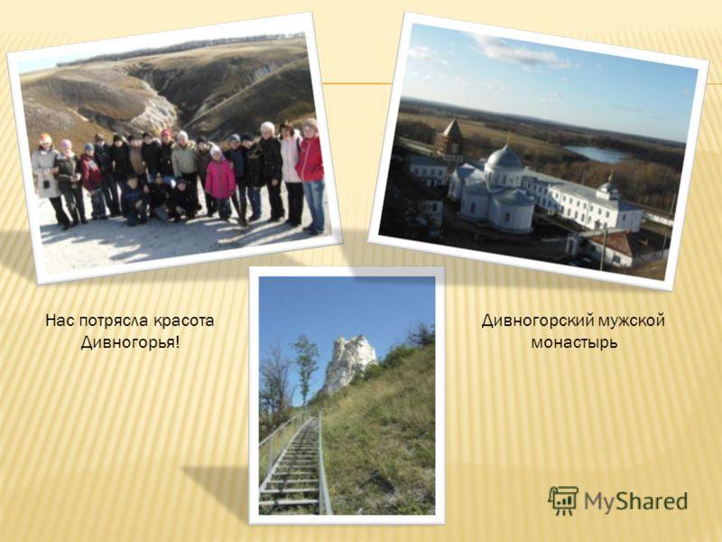 Дивногорский мужской монастырь Нас потрясла красота Дивногорья!