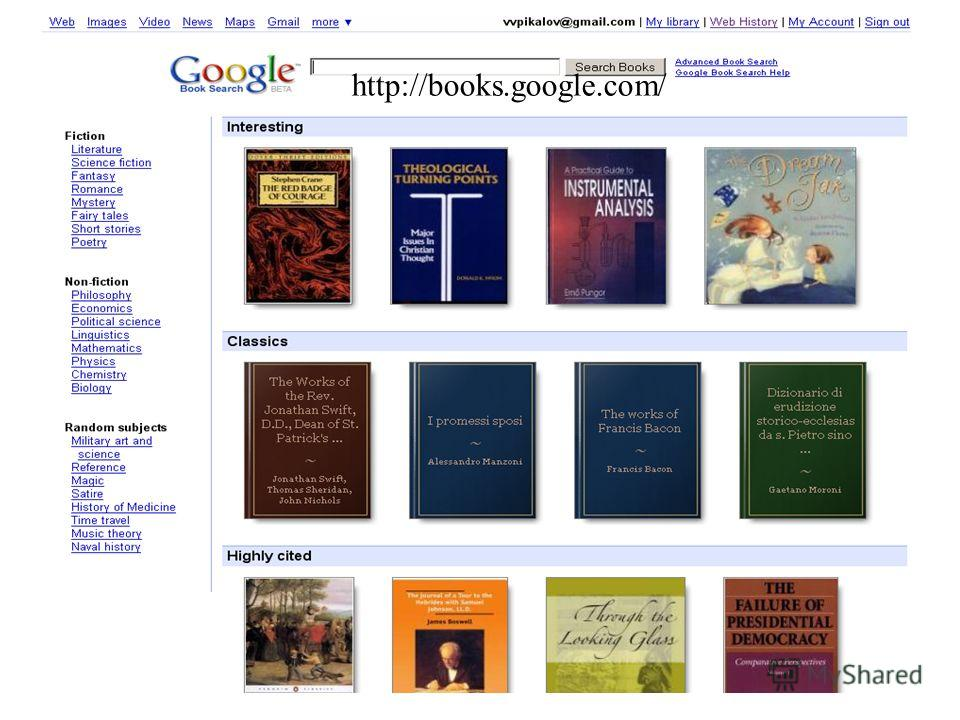 36 http://books.google.com/