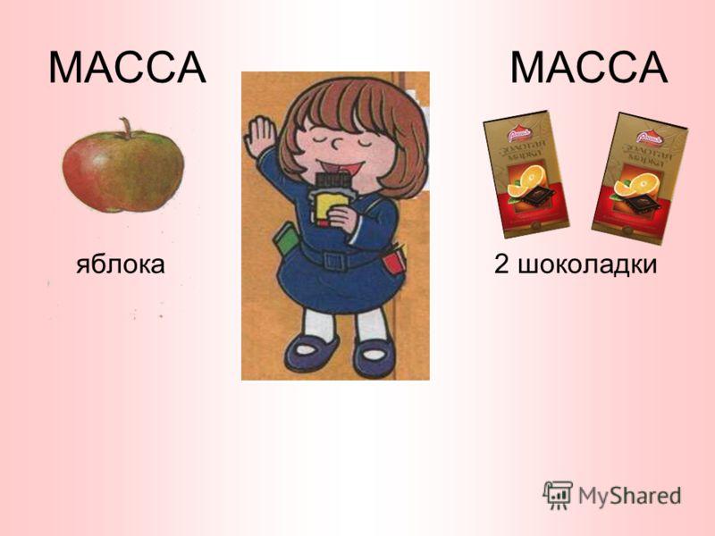 МАССА яблока2 шоколадки