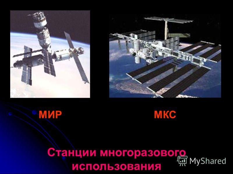 МИРМКС Станции многоразового использования