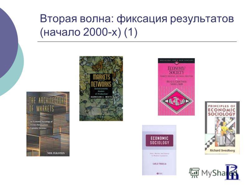 Вторая волна: фиксация результатов (начало 2000-х) (1)