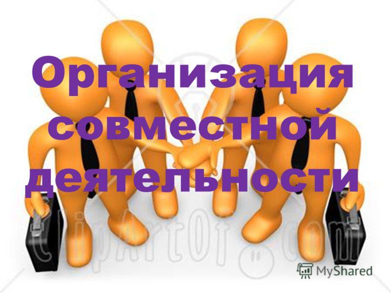 Организация совместной деятельности