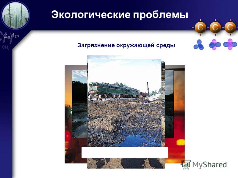 15 Экологические проблемы Загрязнение окружающей среды