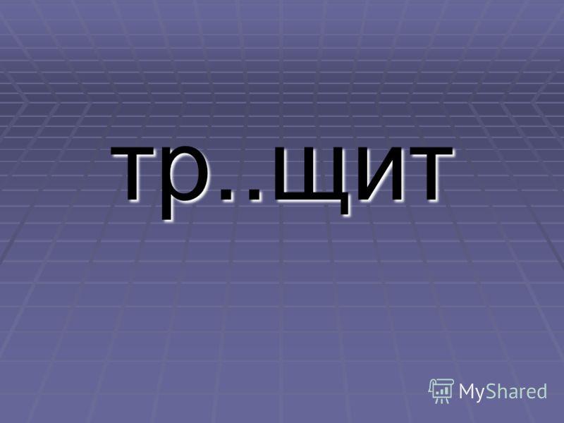 тр..щит