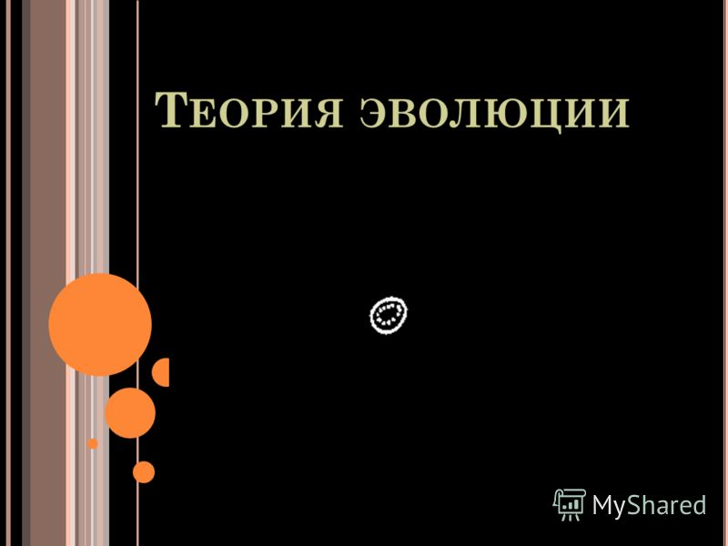 Т ЕОРИЯ ЭВОЛЮЦИИ