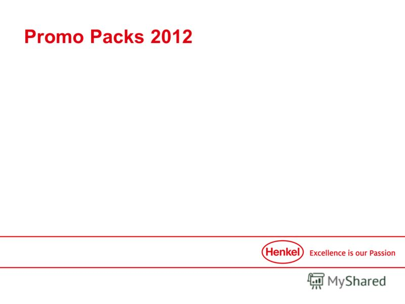 Promo Packs 2012