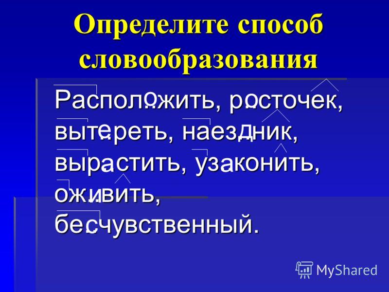 ЛЕС Словообразовательная цепочка ЛЕСНОЙЛЕСНИК ЛЕСОКЛЕСОЧЕК