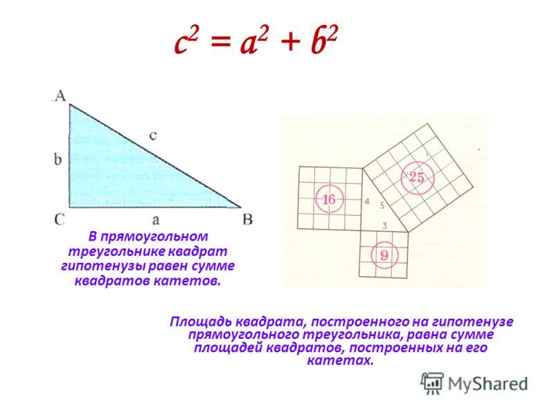 Открытия пифагорейцев Пифагорейцами было сделано много важных открытий в арифметике и геометрии, в том числе: теорема о сумме внутренних углов треугольника; построение правильных многоугольников и деление плоскости на некоторые из них; геометрические