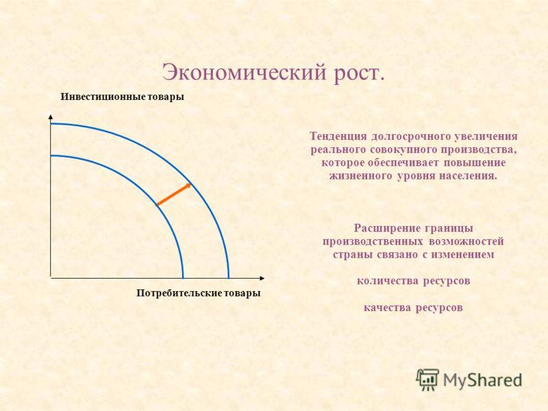 Экономический рост. Относительно устойчивый рост выпуска на протяжении длительных периодов. Р.Дорнбуш, С. Фишер