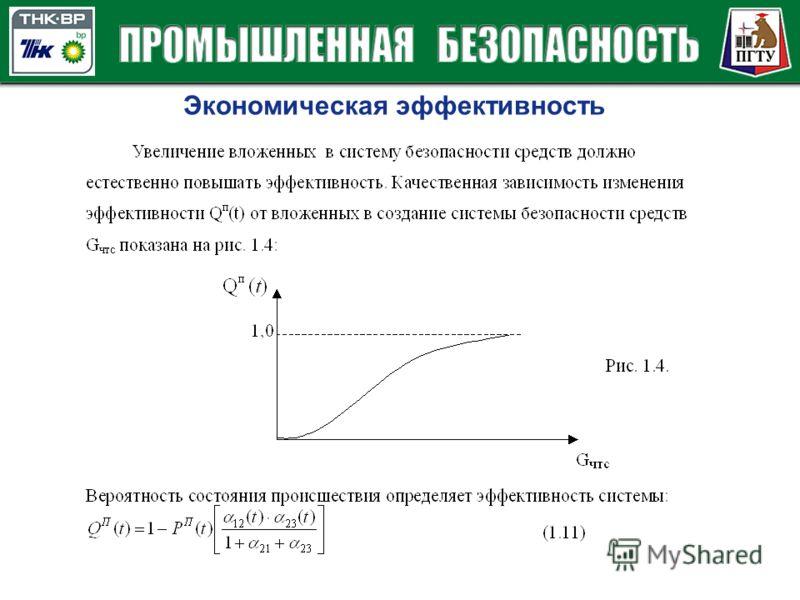 Экономическая эффективность
