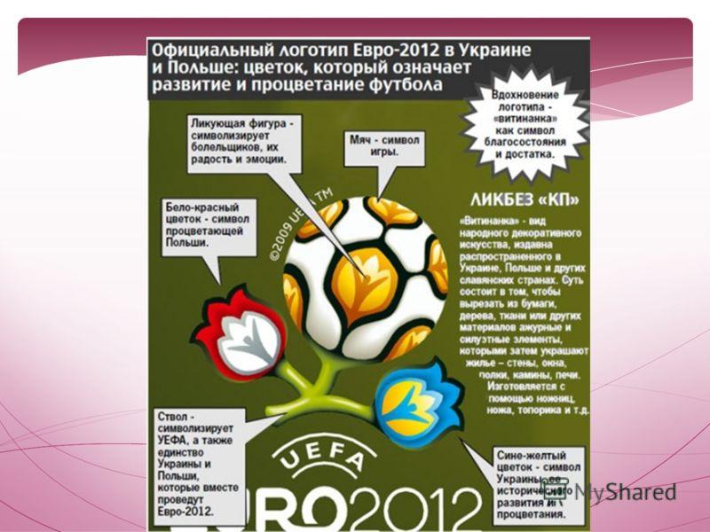Эмблемой Евро-2012 стала вытынанка