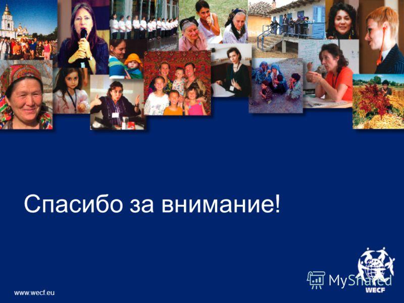 Спасибо за внимание! www.wecf.eu