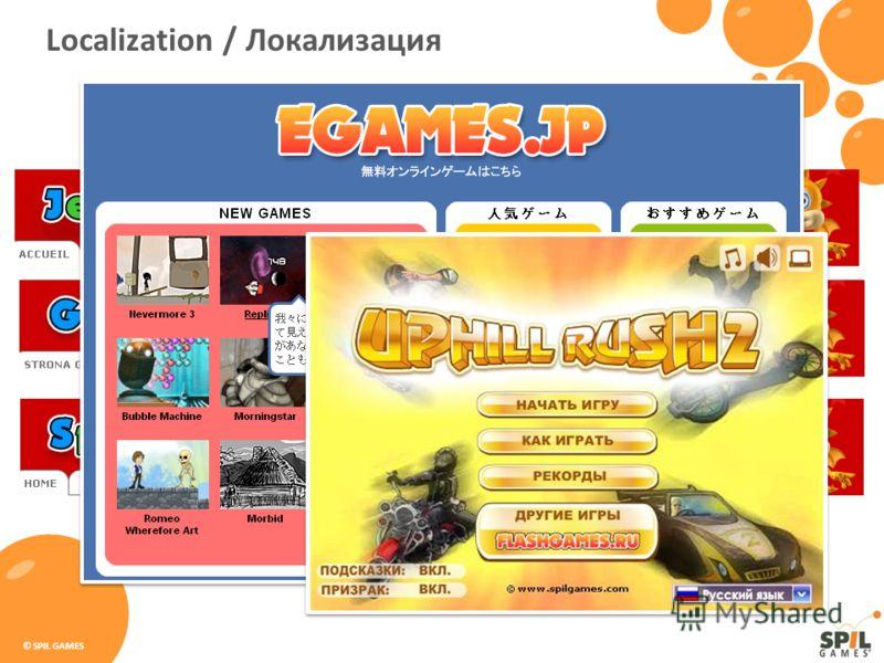 © SPIL GAMES Localization / Локализация