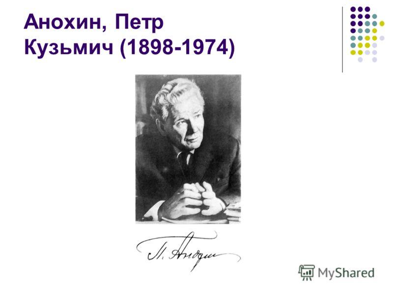 Анохин, Петр Кузьмич (1898-1974)