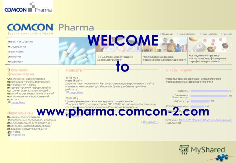 WELCOME to www.pharma.comcon-2.com