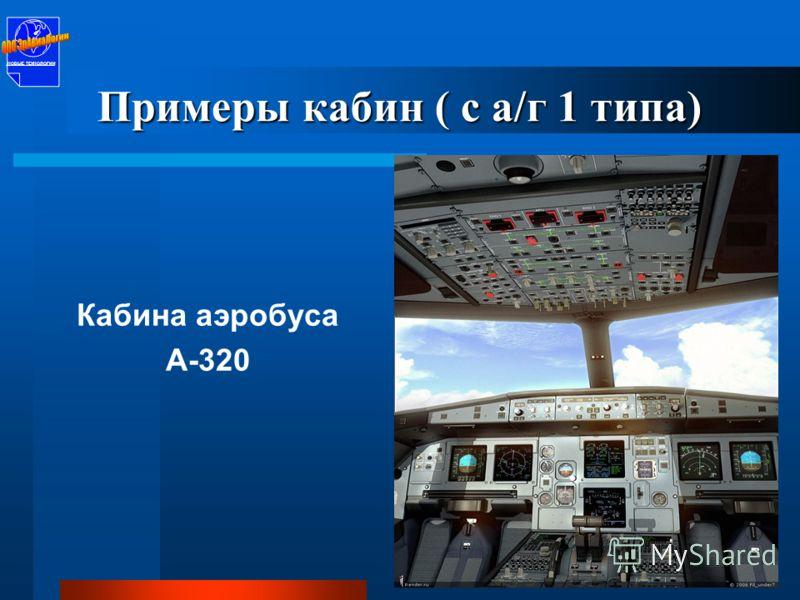 Кабина MD-10 НОВЫЕ ТЕХНОЛОГИИ Примеры кабин ( с а/г 1 типа)