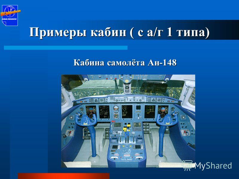 Кабина аэробуса А-320 НОВЫЕ ТЕХНОЛОГИИ Примеры кабин ( с а/г 1 типа)