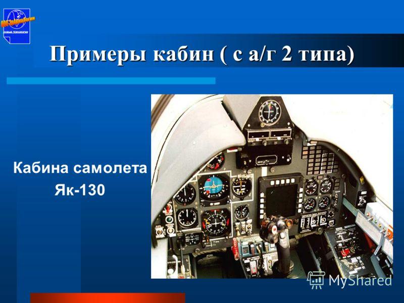 Кабина самолета Як-18Т НОВЫЕ ТЕХНОЛОГИИ Примеры кабин ( с а/г 2 типа) НОВЫЕ ТЕХНОЛОГИИ