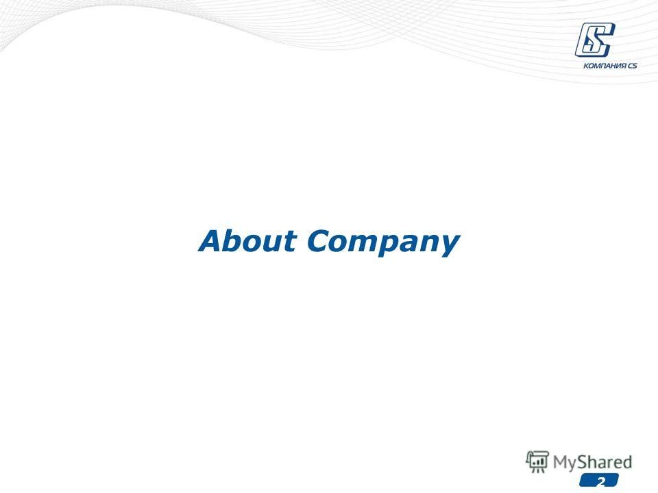 2 About Company