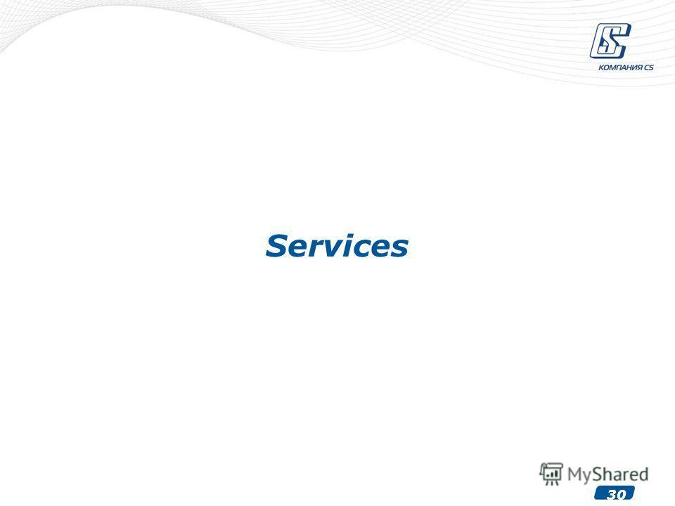 30 Services
