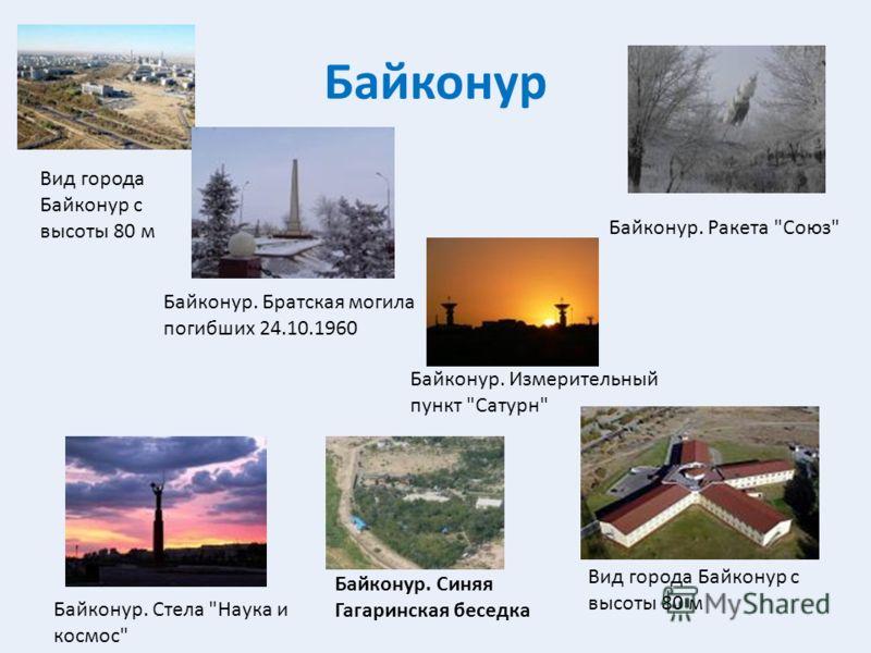 Байконур Байконур. Измерительный пункт