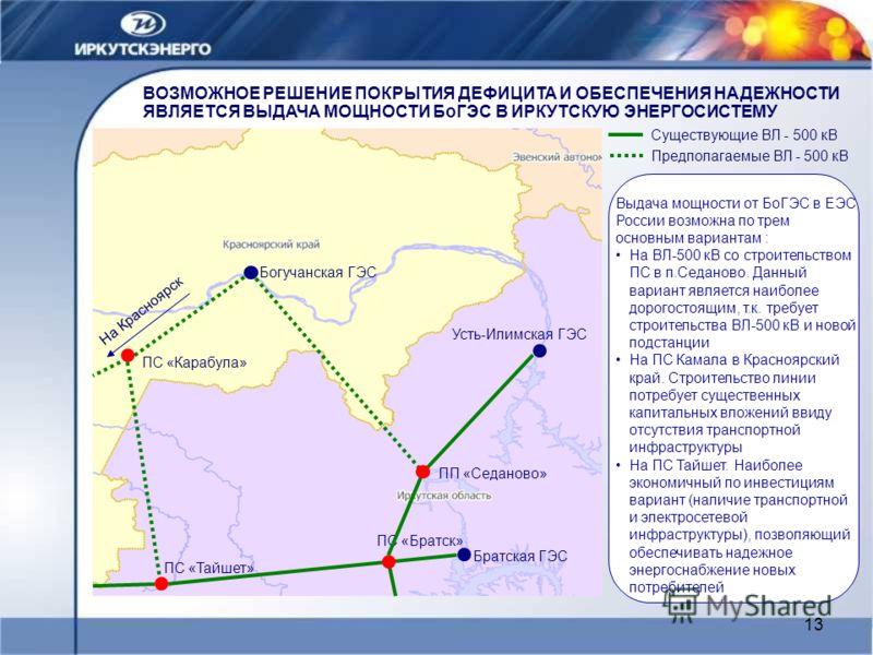 Братская ГЭС ПС «Тайшет»