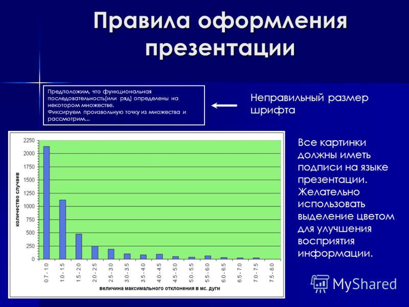 Презентация на тему Оформление и подача научной информации  4 Правила оформления презентации