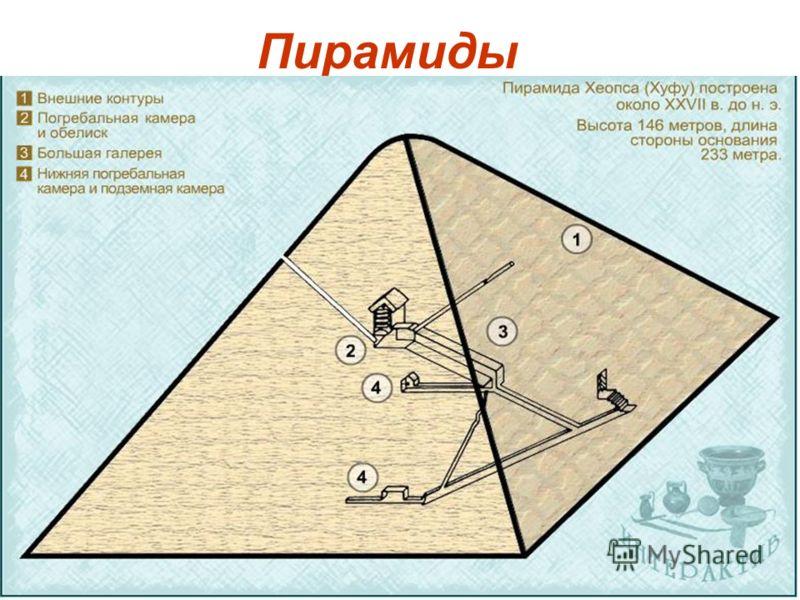 8 Пирамиды