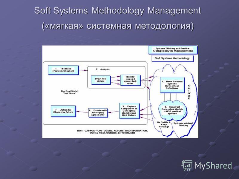 Soft Systems Methodology Management («мягкая» системная методология)