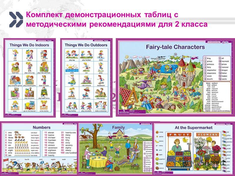 www.prosv.ru/umk/we Комплект демонстрационных таблиц с методическими рекомендациями для 2 класса