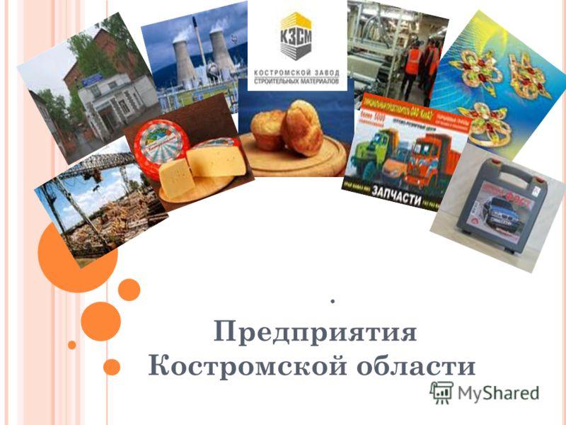 . Предприятия Костромской области