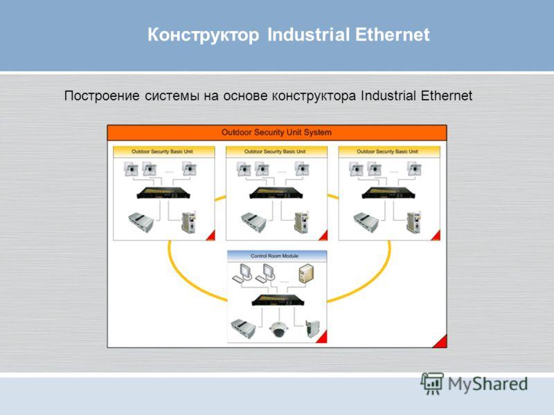 Конструктор Industrial Ethernet Построение системы на основе конструктора Industrial Ethernet