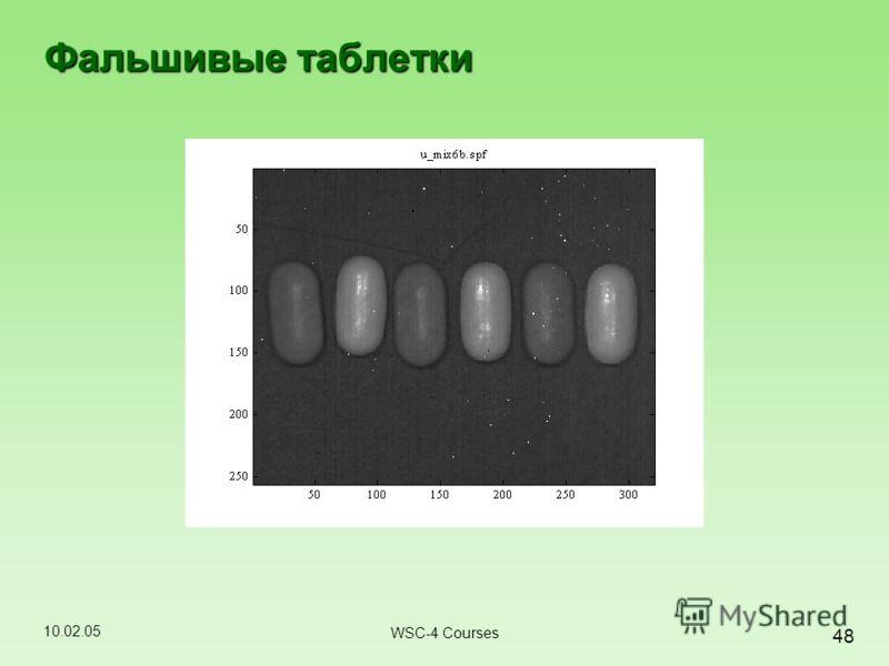 10.02.05 48 WSC-4 Courses Фальшивые таблетки