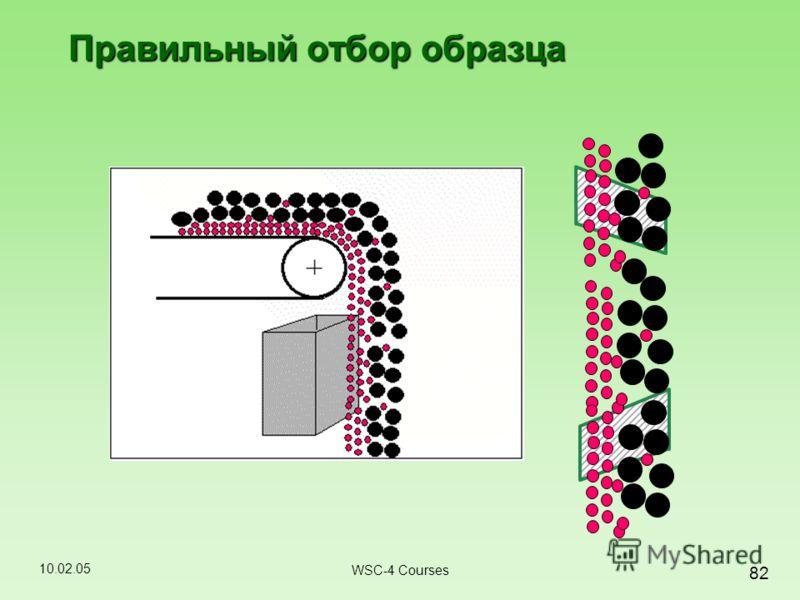 10.02.05 82 WSC-4 Courses Правильный отбор образца