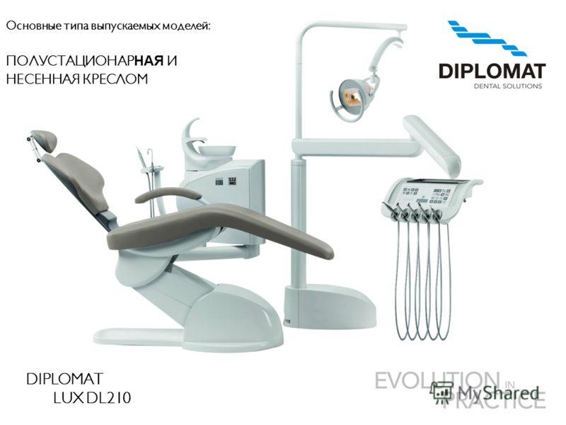 DIPLOMAT LUX DL210 Основные типа выпускаемых моделей: ПОЛУСТАЦИОНАР НАЯ И НЕСЕННАЯ КРЕСЛОМ