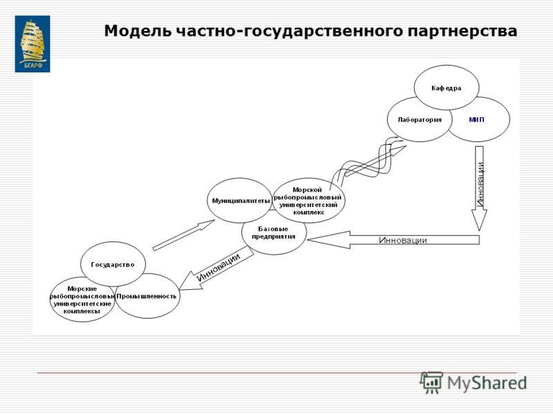 Модель частно-государственного партнерства