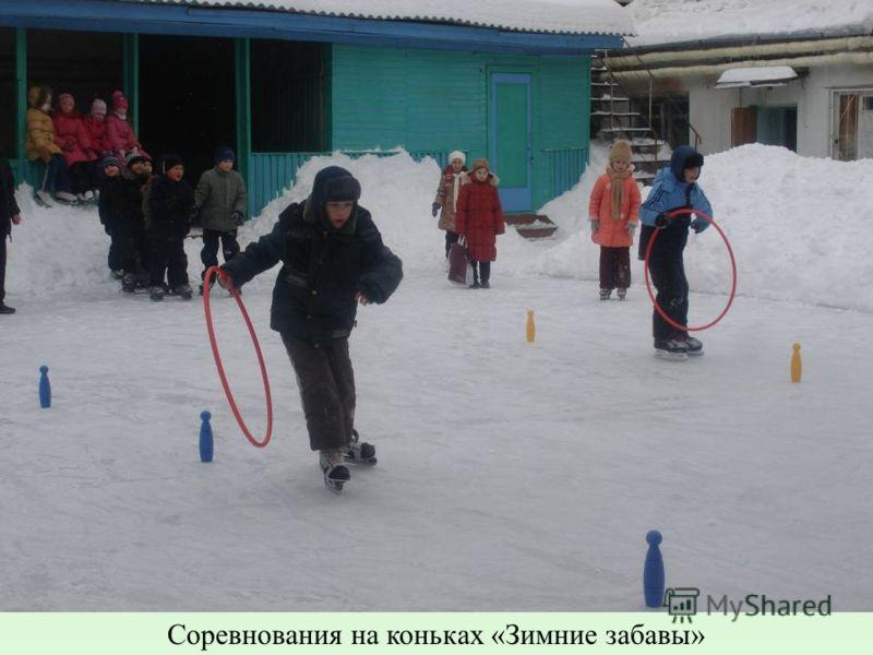 Соревнования на коньках «Зимние забавы»